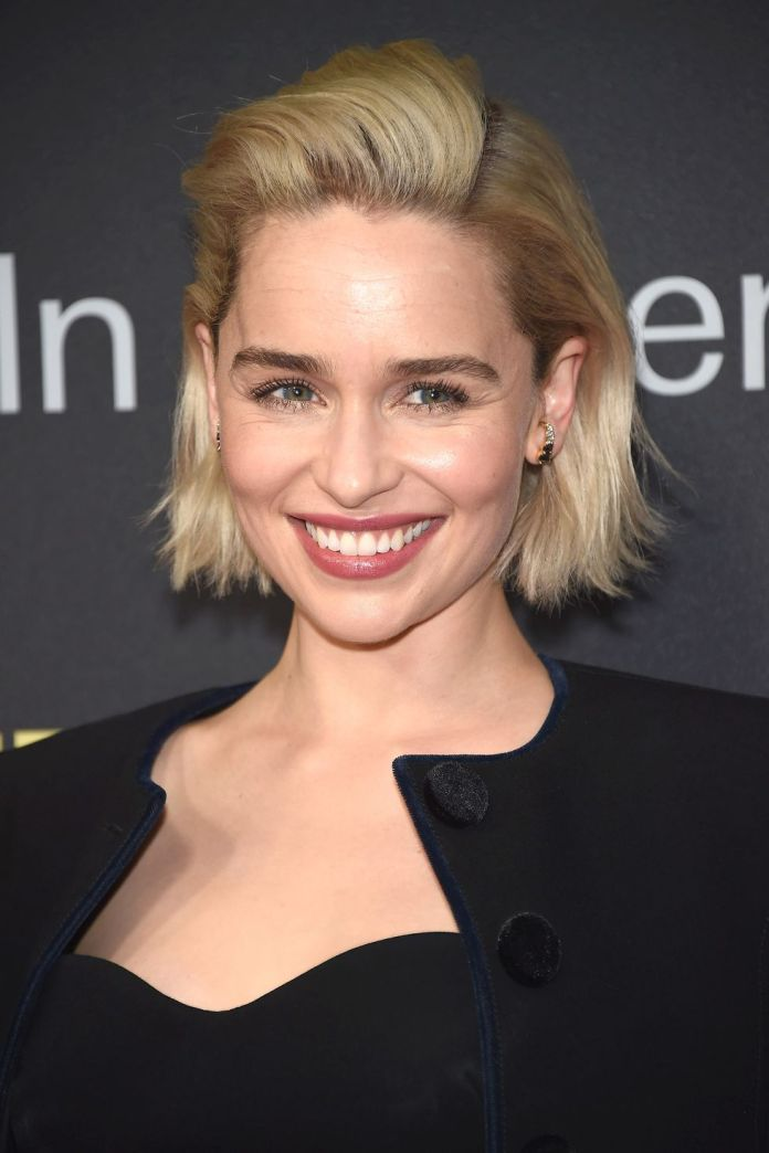 Emilia-Clarke Short Blonde Hairstyles That'll Inspire You to Call Your Colorist