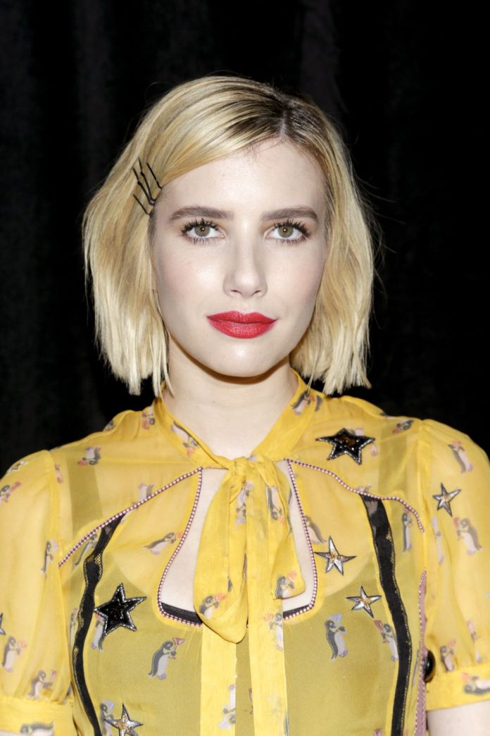Emma-Roberts-1 Short Blonde Hairstyles That'll Inspire You to Call Your Colorist