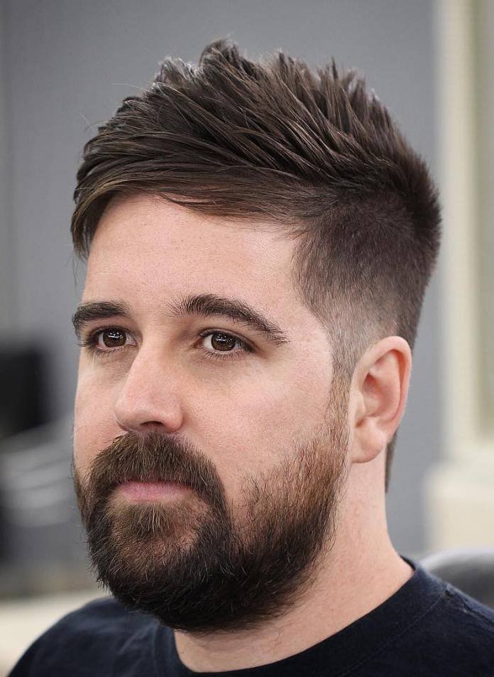 Finished-French-Crop-Tapered-Sides Mens Hairstyles with Thin Hair for Ultra Stylish Look