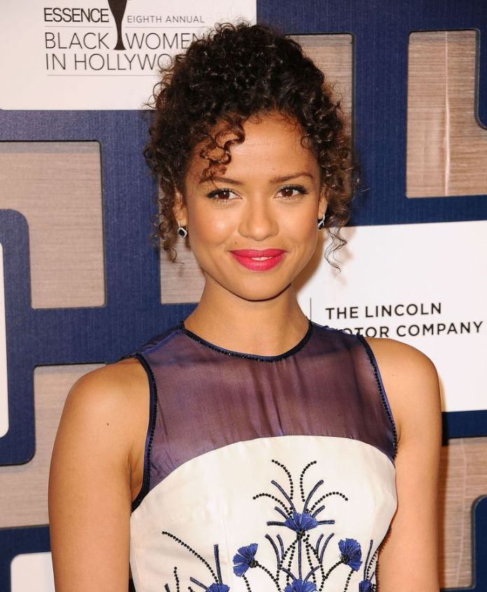 Gugu-Mbatha-Raws-Pinned-Up-Style Stunning Curly Hairstyles That Are All About That Texture
