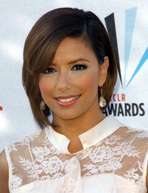 Heart-Shaped-Face Best Celebrity Bob Hairstyles