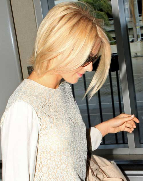 Julianne-Hough-short-hair Best Short Straight Hair for Women