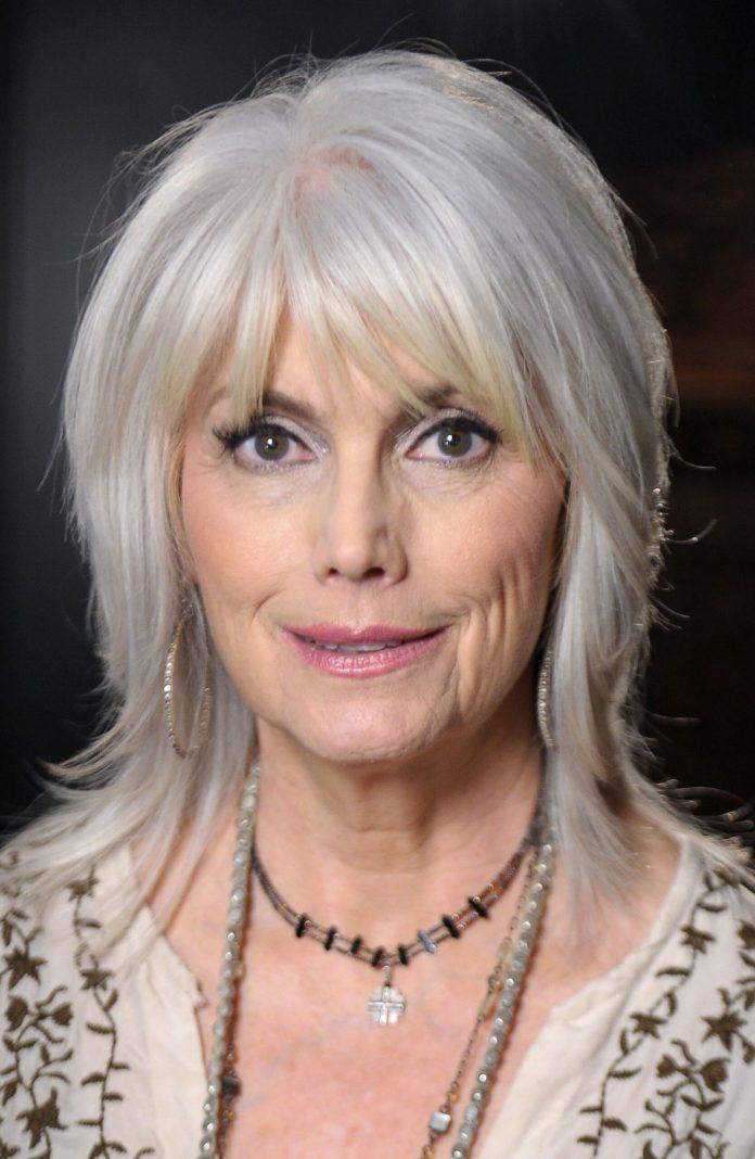 Keen-Pompom Glamorous Grey Hairstyles for Older Women