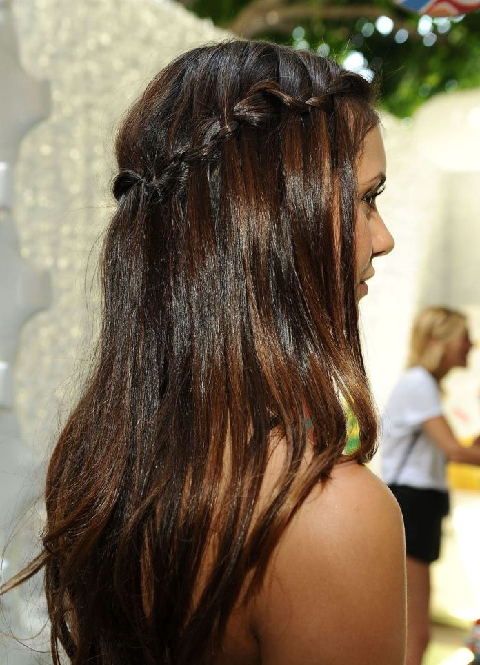 Lace-Braided-Hair Braids Hairstyles for an Ultimate Princess Look