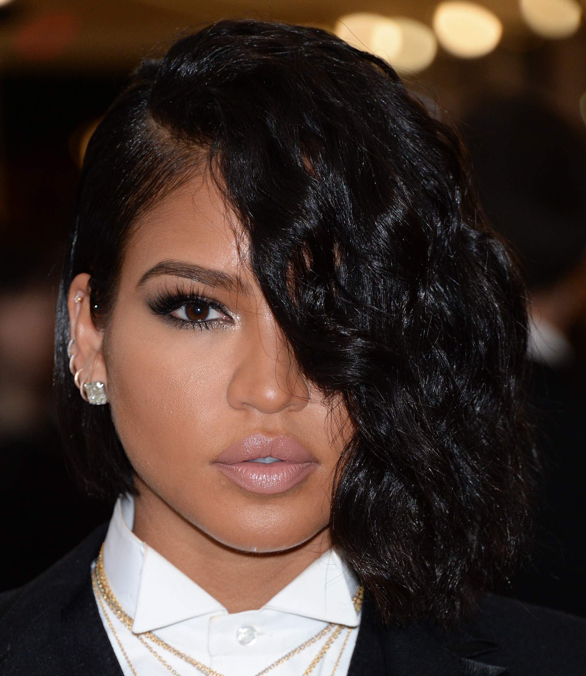 Lace-Wig-with-Short-Bob-Hairstyle Bob Hairstyles for Black Women for Rocking Look
