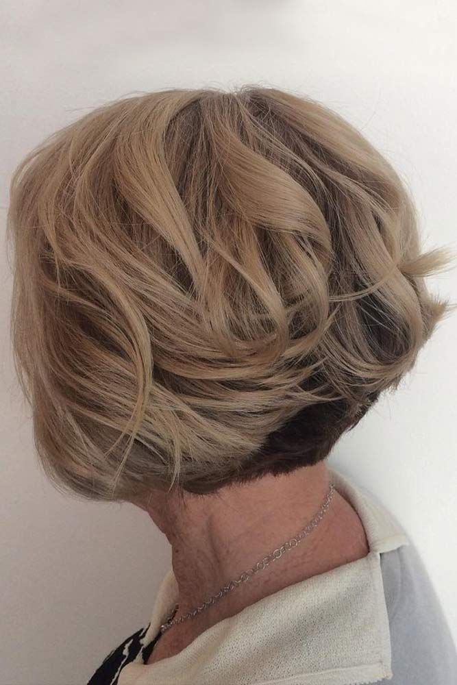 Layered-Blonde-Bob-Haircut Easy Hairstyles for Women Over 50
