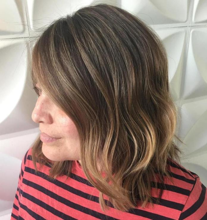 Lighter-for-Summer Gorgeous Hairstyles and Haircuts for Women Over 40