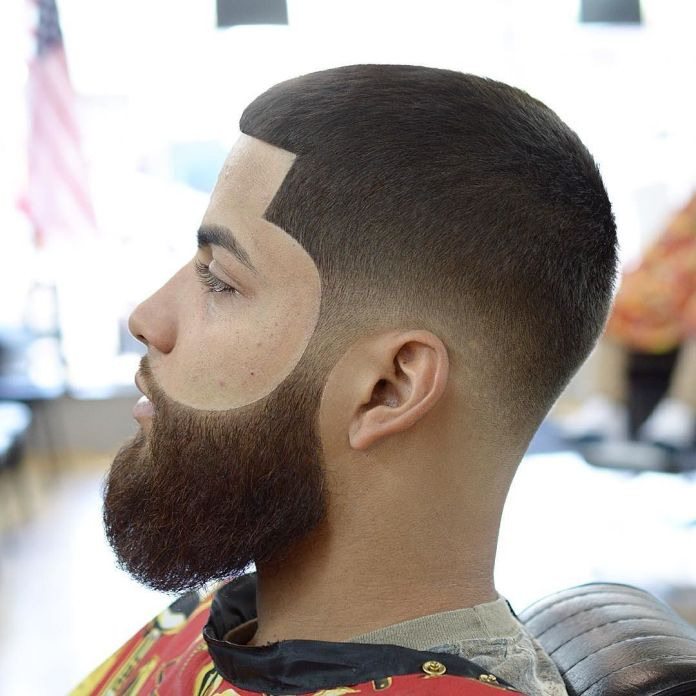 Line-Up-Buzz-Cut Stylish Hairstyles for Men to Look Attractive