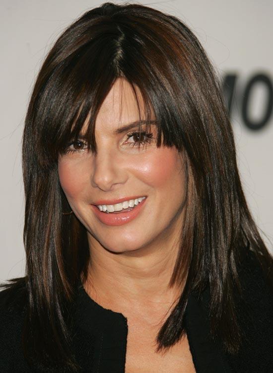 Medium-Length-Blunt-Bob Medium Hairstyles for Women Over 50