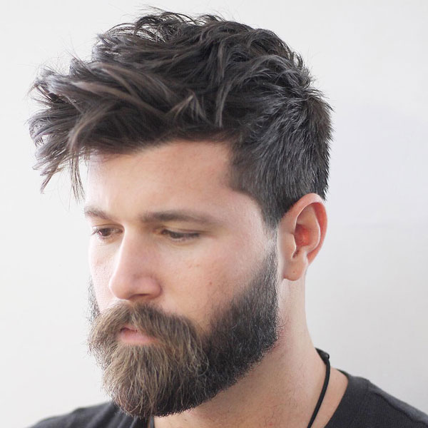 Messy-Taper-Hairstyle The Best Haircuts For Men