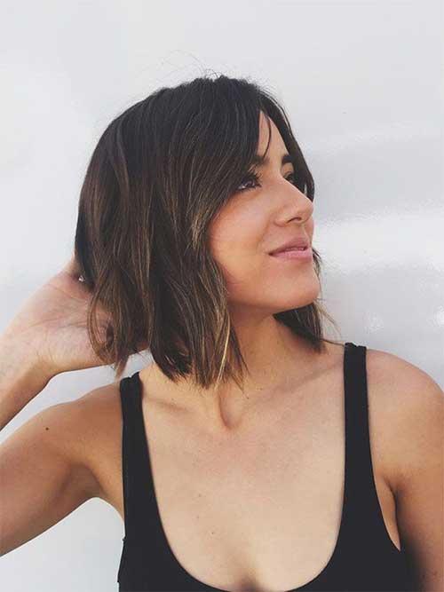 Nice-Short-Highlighted-Haircut-for-Women Best Short Hair Cuts For Women