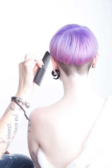 Original-Short-Purple-Look Short hair color ideas