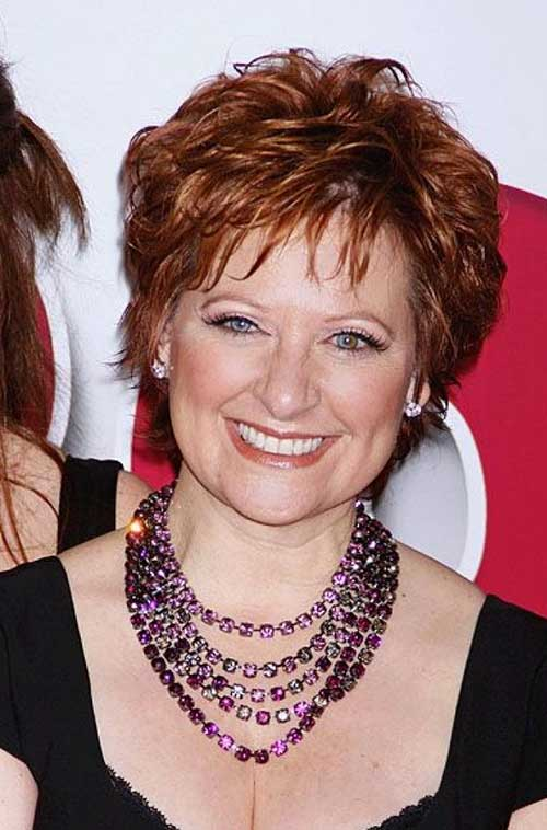Pixie-Layered-Short-Haircut-for-Women-Over-50 Hottest Short Layered Hairstyles For Women Over 50