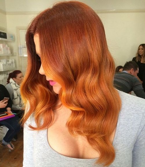 Red-Orange-Hair Chirmast Time, It's Time To Dye Your Hair Color To Red