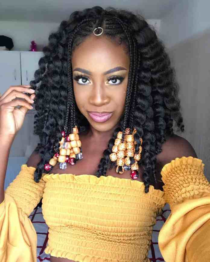 Rocking-Diva-Look Tribal Braids for Super Trendy Appearance
