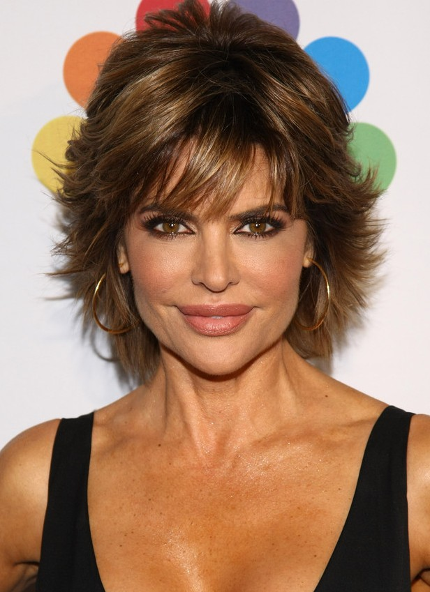 Sexy-Layered-Razor-Cut-for-Women-Over-50- Hottest Short Layered Hairstyles For Women Over 50