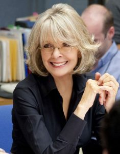 Short-Bob-With-Bangs 12 Stylish shoulder-length hairstyles for women Over 50