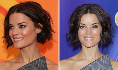 Short-Dark-Wavy-Haircut-for-Women Best Short Hair Cuts For Women