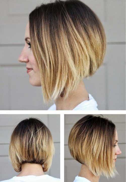 Short-Hair-Colour-Idea Color For Short Hair