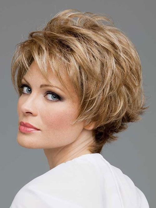 Short-Layered-Hairstyle-for-Women-Over-50 Hottest Short Layered Hairstyles For Women Over 50