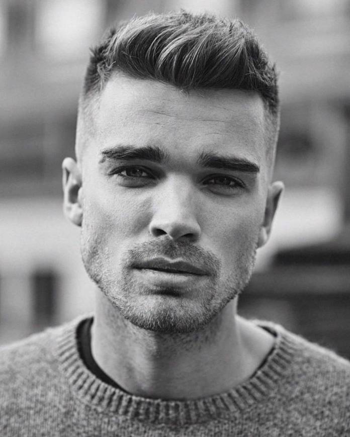 Simple-and-Short-Hairstyle-1 Stylish Hairstyles for Men to Look Attractive