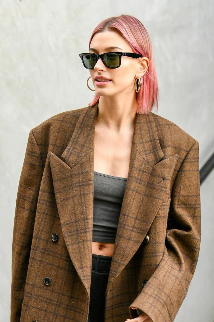 Sleek-Pink-Bob Short Hair Trends for Stylish and Gorgeous Look