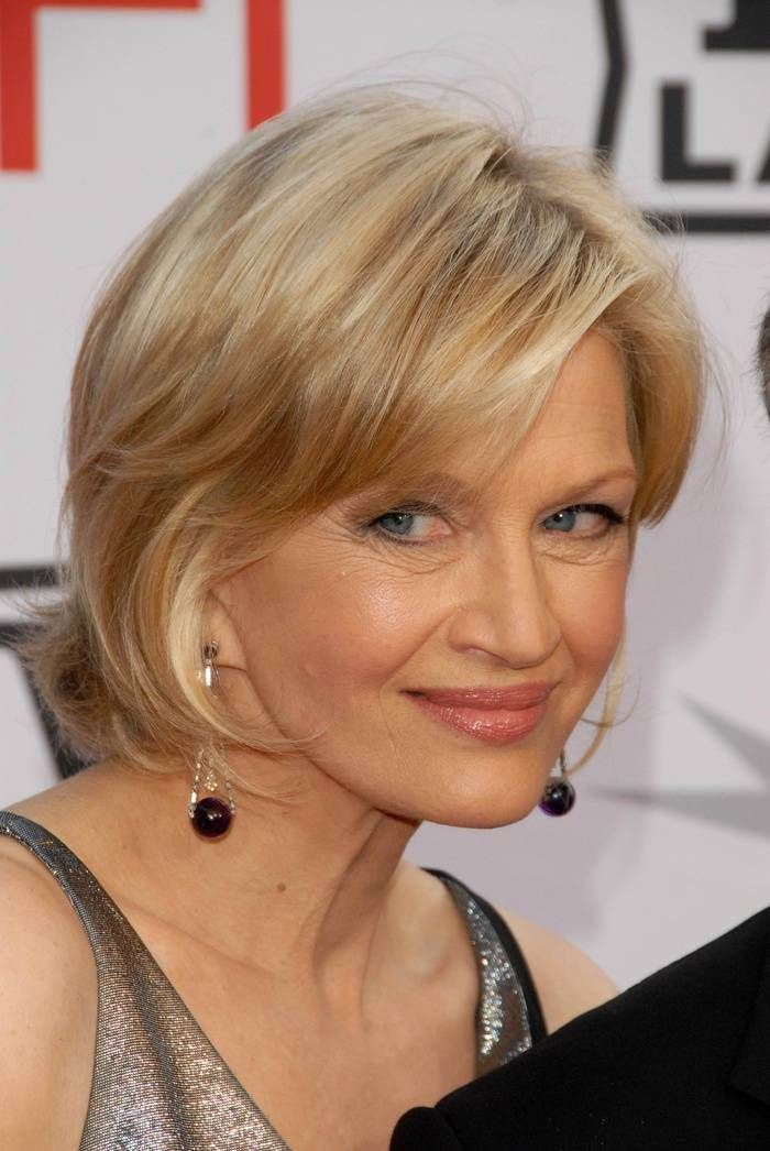 Sophisticated-Short-Haircut-With-Bangs Best Hairstyles For Women Over 50 With Fine Hair