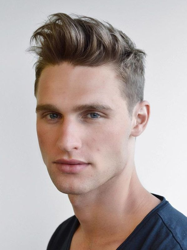 Spiky-Hair-with-an-Unkempt-Parting Mens Hairstyles with Thin Hair for Ultra Stylish Look