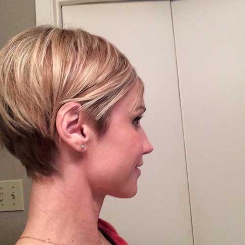 Straight-Short-Blonde-Haircut-for-Women Best Short Hair Cuts For Women