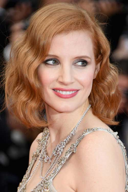 Strawberry-blonde-hair-color Best Celebrity Bob Hairstyles