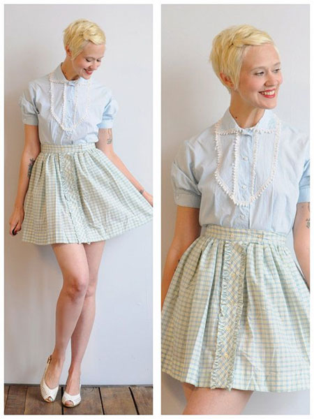 Super-Short-and-Cute-Pixie-Hairstyle Short Cute Hairstyles
