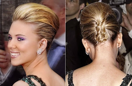 The-Lovely-and-Charming-Modern-French-Twist-Hairstyle-for-the-Wedding Wedding Hairstyles for Short Hair