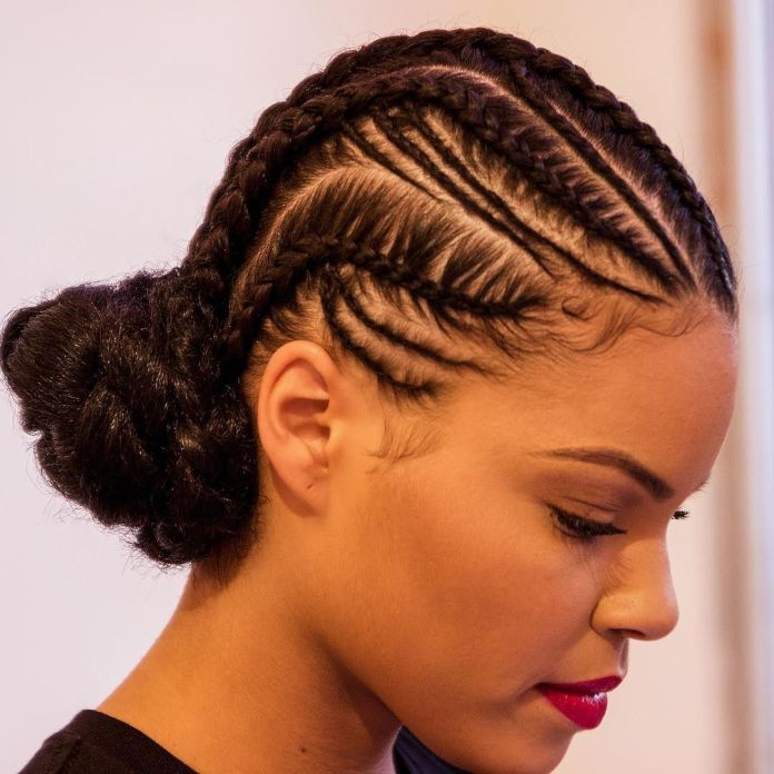 Thin-and-Thick-Braids Braids Hairstyles for an Ultimate Princess Look