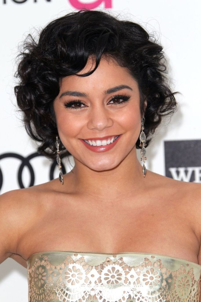 Vanessa-Hudgens-Wispy-Bob Stunning Curly Hairstyles That Are All About That Texture