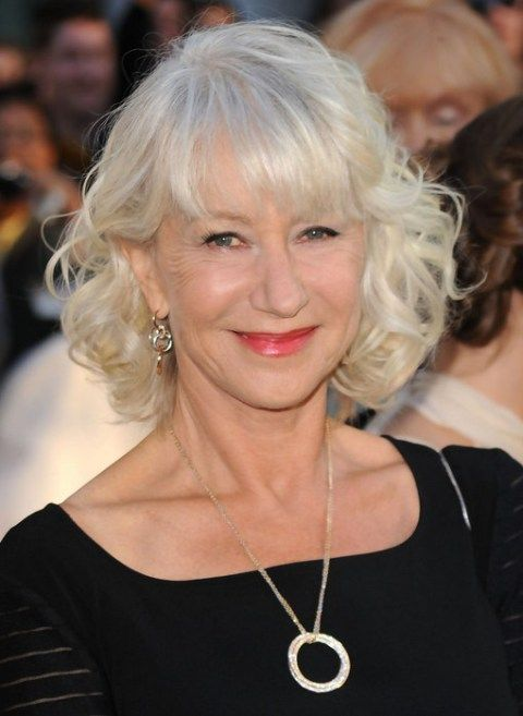 Wavy-Little-Bob 12 Stylish shoulder-length hairstyles for women Over 50