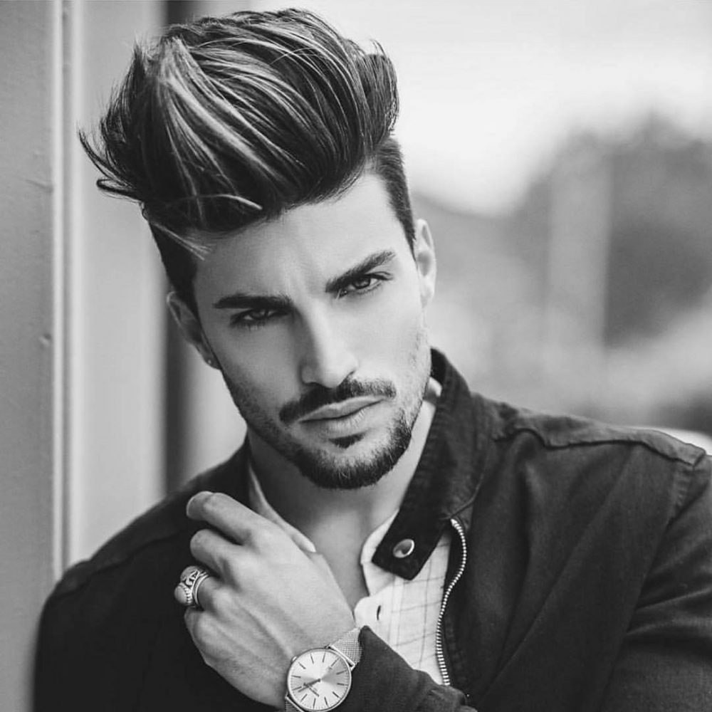 A-Bulky-Pompadour Most Stylish Hairstyles with Disconnected Undercut