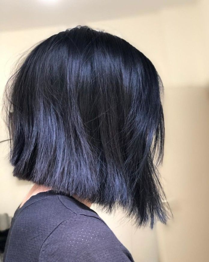 A-Line-Black-Bob Must Try Bob Hairstyles 2020 for Trendy Look
