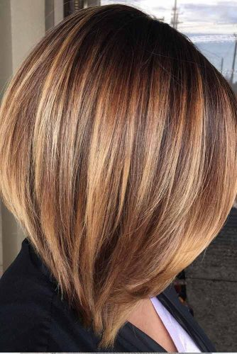 Angled-Layers-For-Medium-Hair-thick-hair 15 Graceful Medium Length Haircuts for Thick Hair