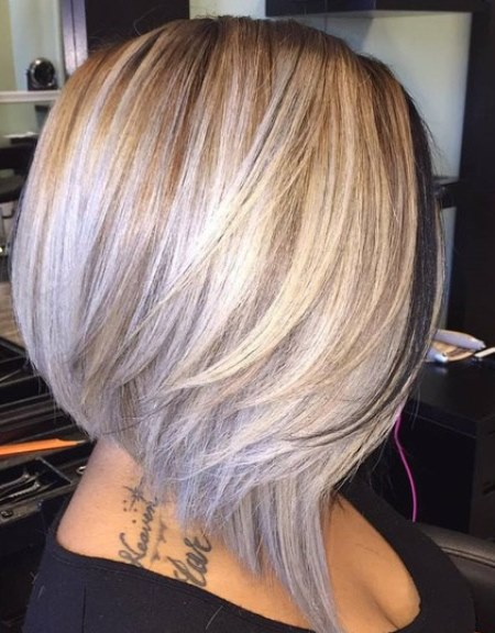 Ash-Blonde-A-Line-Bob 20 of the Most Hottest A-Line Bob Hairstyles