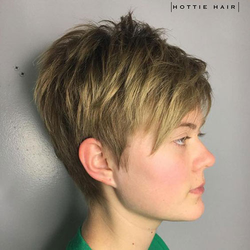 Ash-Blonde-Layered-Hair 14 stunning Short Haircuts and Hairstyles for Fine Hair