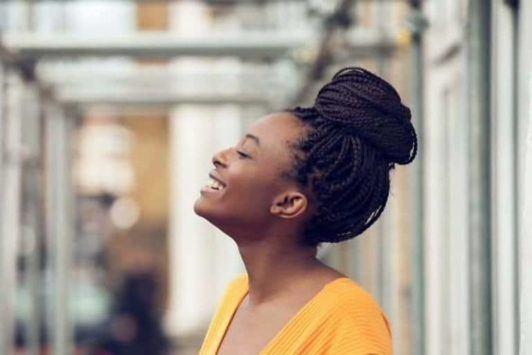 Box-Braid-Bun 16 Stunning Natural Hairstyles for Black Women