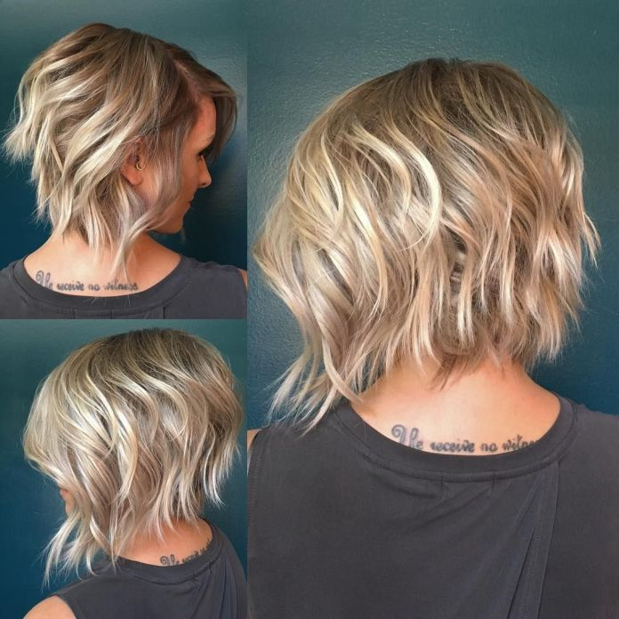 Choppy-Layered-Bob Must Try Bob Hairstyles 2020 for Trendy Look