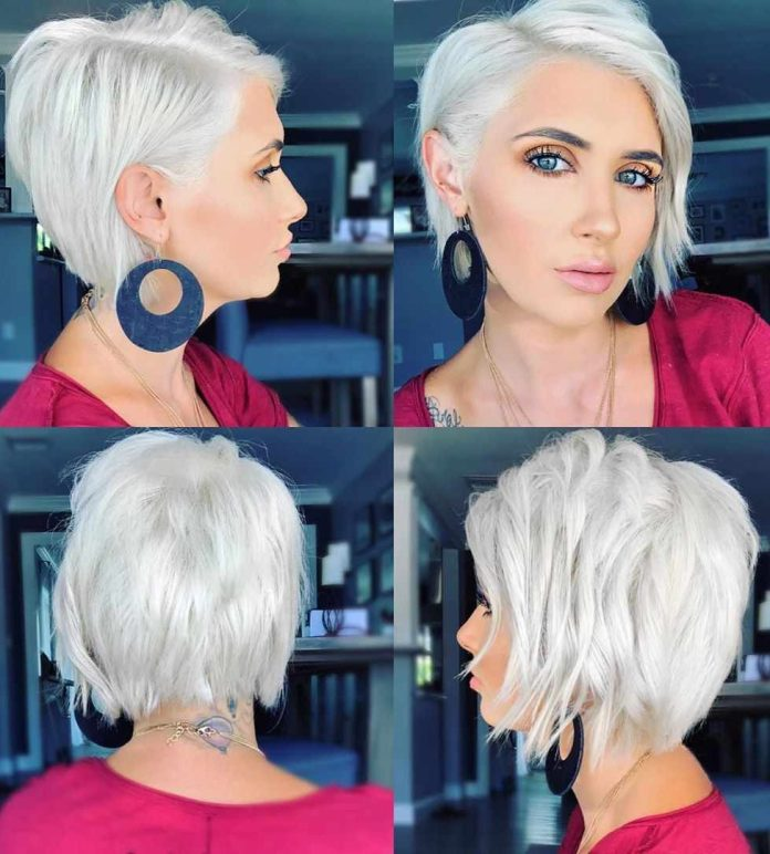 Choppy-Wavy-Bob Roaring and Attractive Short Hairstyles 2020