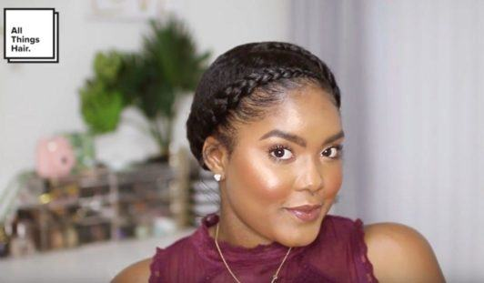 Chunky-Braids 16 Stunning Natural Hairstyles for Black Women