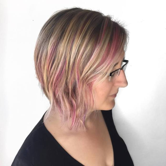 Colored-Bob-hairstyle Most Amazing Bob Haircuts for Thin Hair