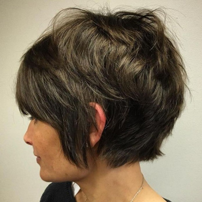 Decreased-Pixie-with-Feathered-Crown Undoubtedly Coolest Pixie Cuts for Wavy Hair