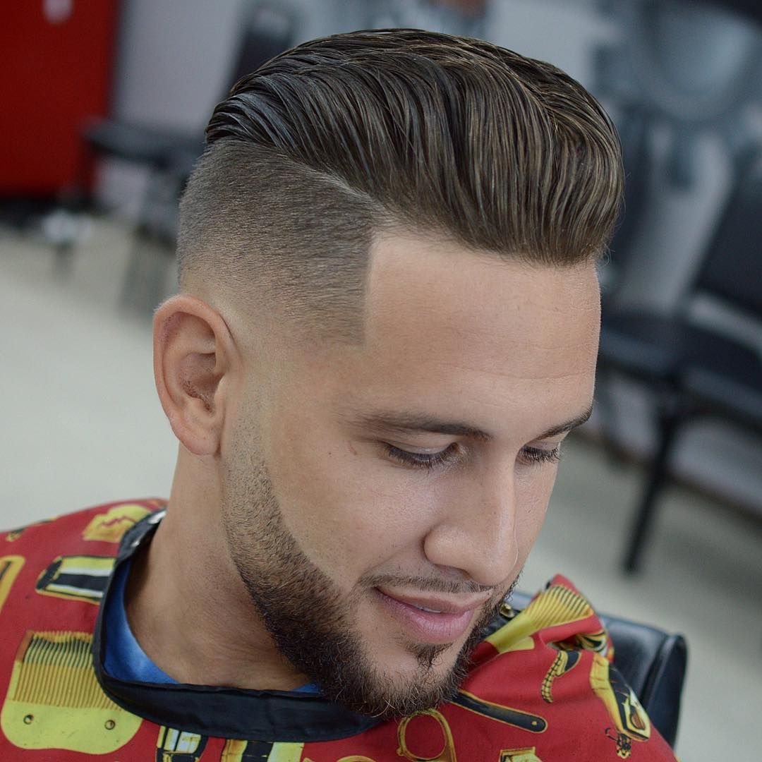 Disconnected-Undercut-Hairstyle-with-Sharp-Cuts Most Stylish Hairstyles with Disconnected Undercut