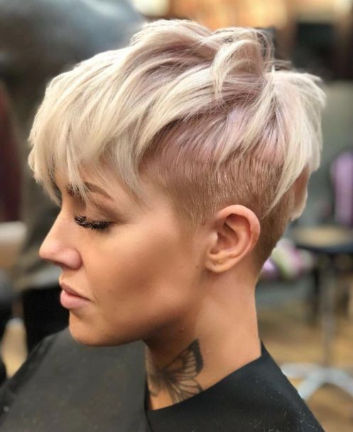 Edgy-Choppy-Pixie-with-Undercut-1 10 Fabulous Ideas for Short Choppy Haircuts