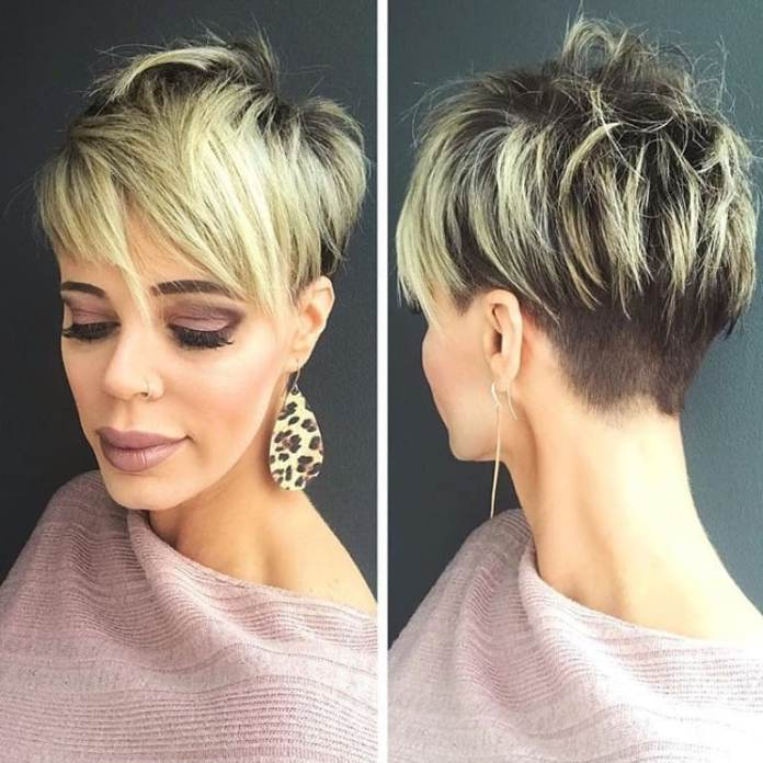 Golden-Fringes Glamorous Pixie Cut 2020 for Astonishing Look