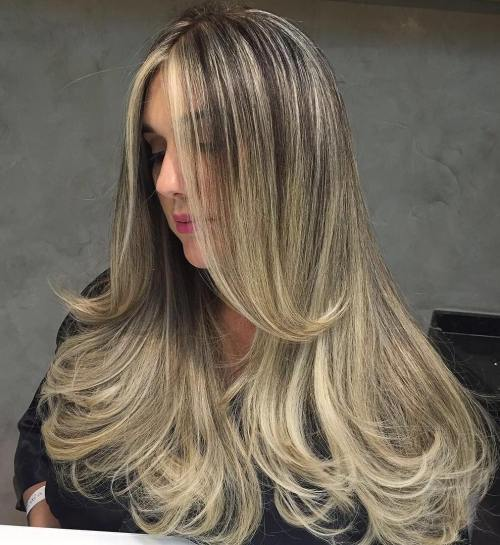 Highlights-and-Curled-Ends 14 gorgeous Hairstyles and Haircuts for Long Straight Hair
